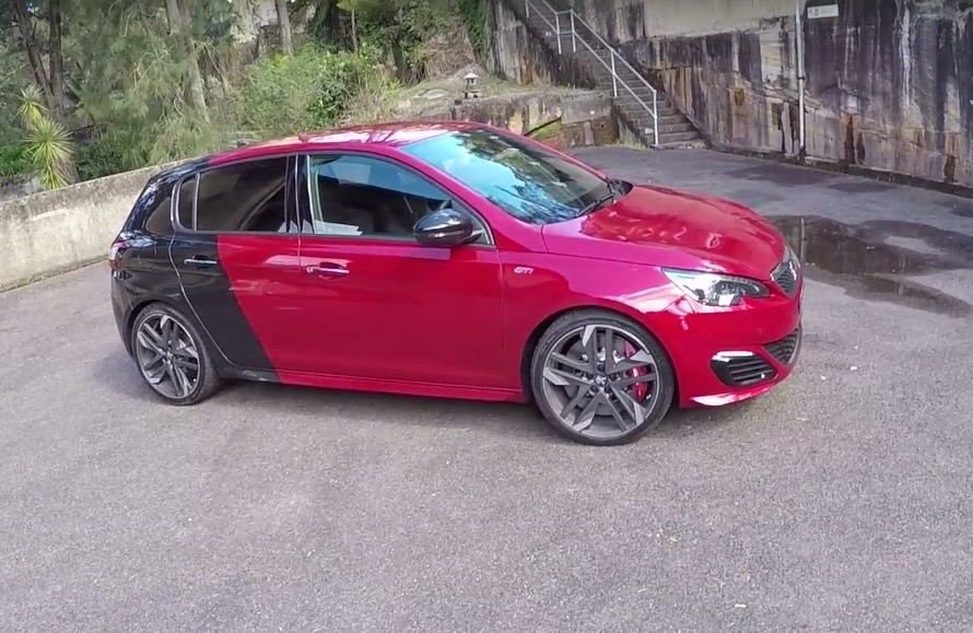 peugeot 308 gti 270 review first impressions pov performancedrive. Black Bedroom Furniture Sets. Home Design Ideas