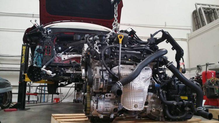Porsche Hyundai Bisimoto Engine