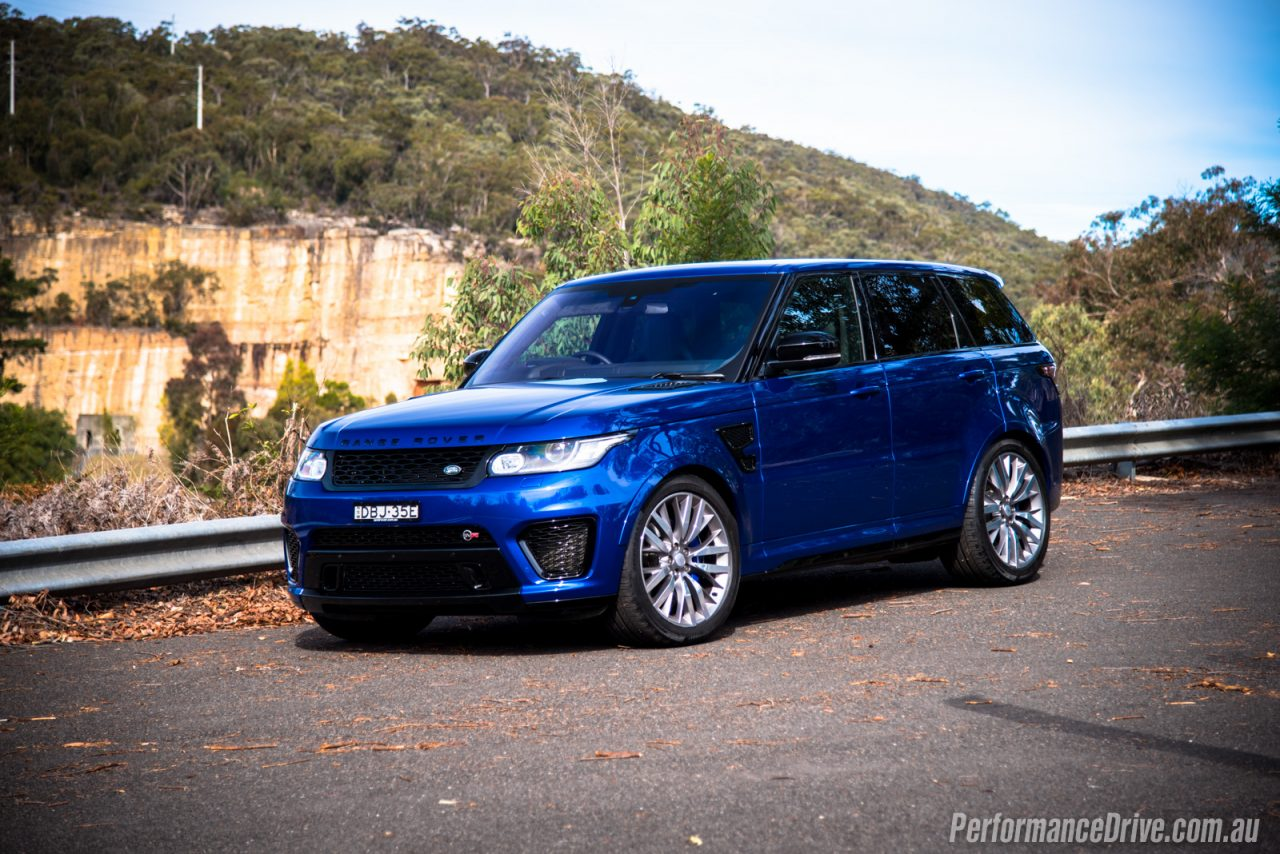 2016 range rover sport svr review video performancedrive. Black Bedroom Furniture Sets. Home Design Ideas