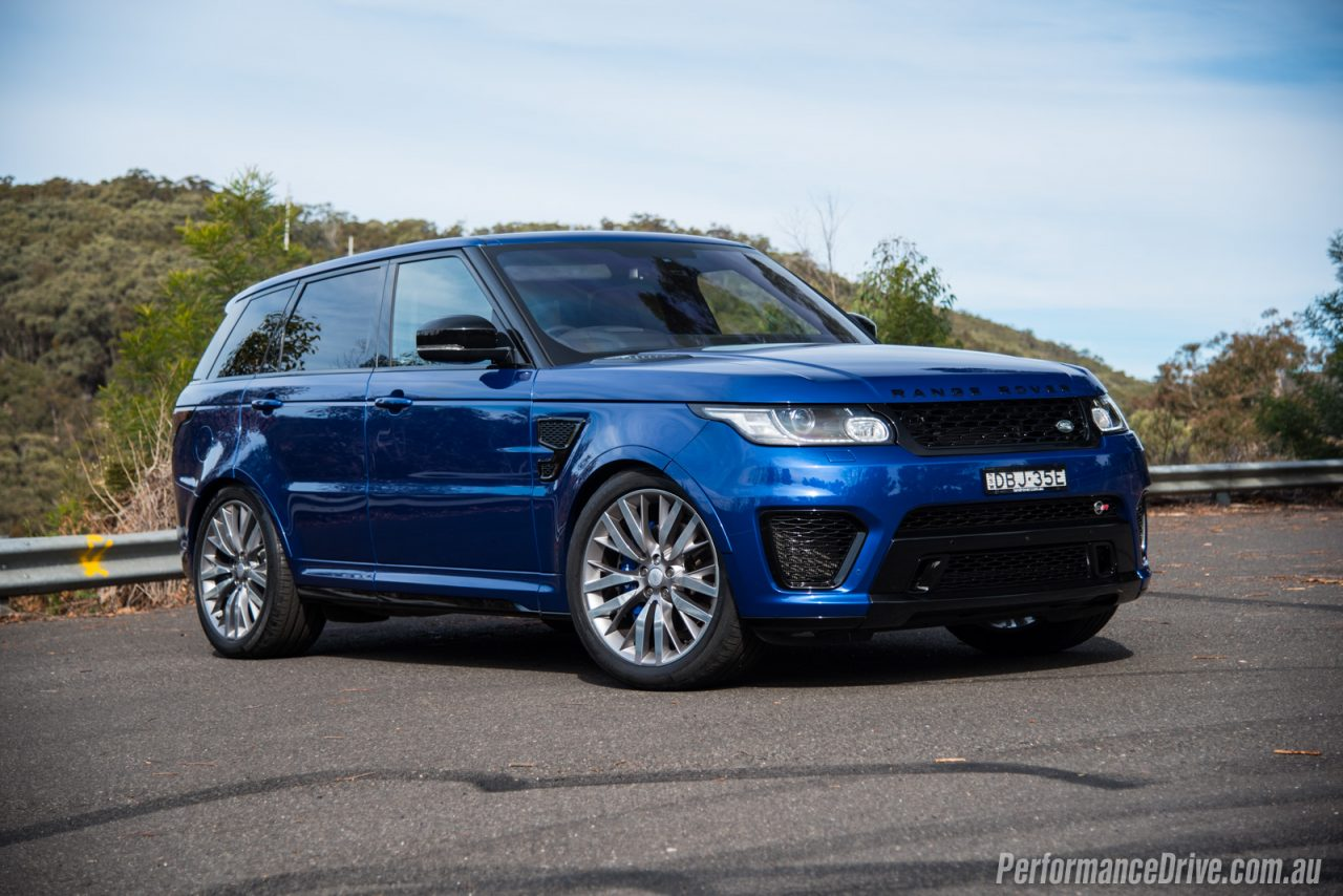 Range Rover Sport >> 2016 Range Rover Sport SVR review (video) | PerformanceDrive