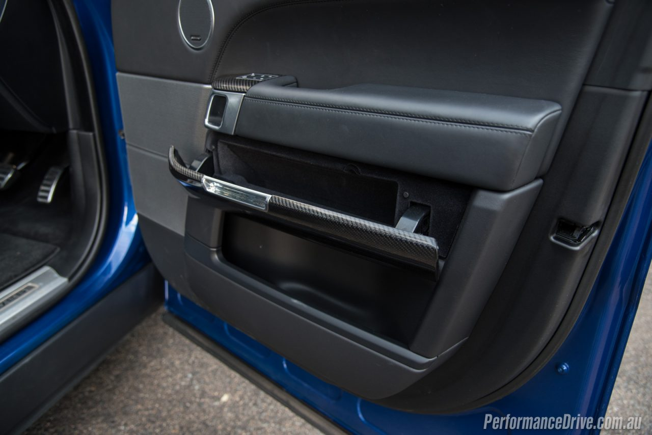 2016 range rover sport svr review video performancedrive for Pocket front door