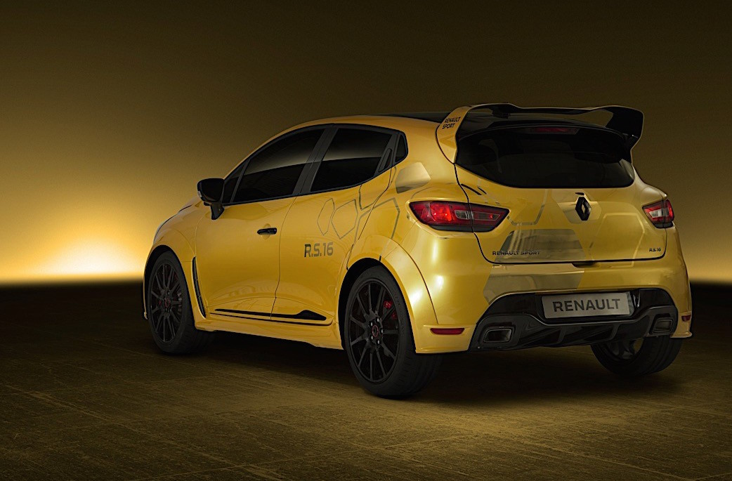 renault clio rs16 to go into production clio v6 successor performancedrive. Black Bedroom Furniture Sets. Home Design Ideas