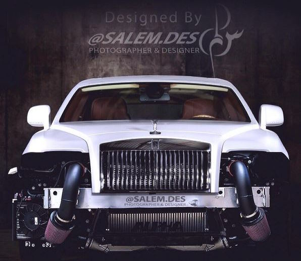 Rolls-Royce Wraith Salem Des render