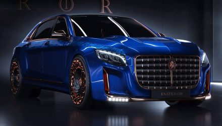 Scaldarsi Emperor I; Mercedes-Maybach S 600 modified to excess?