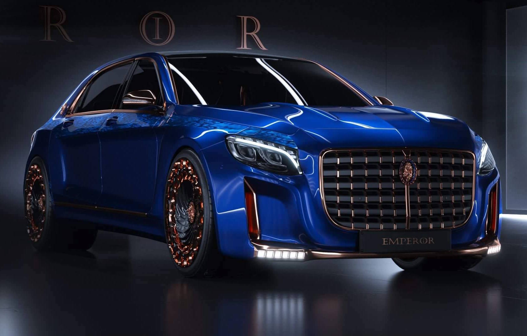 Scaldarsi Emperor I Mercedes Maybach S 600 Modified To