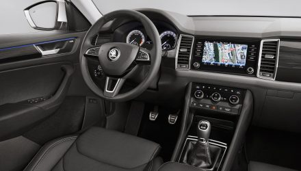 Skoda Kodiaq interior revealed, 5 & 7 seat confirmed