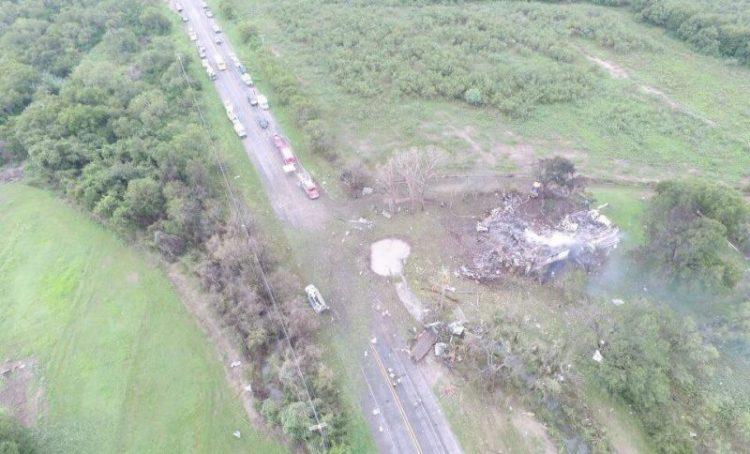 Takata airbag truck explosion