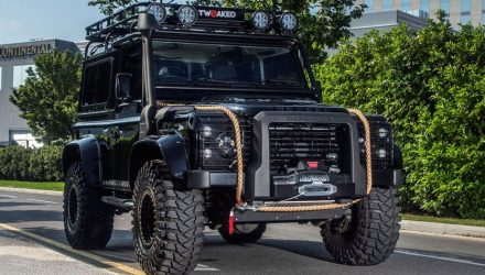 007-inspired Land Rover Defender is one tough machine