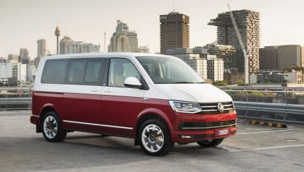 MY2017 Volkswagen commercial vehicle updates announced