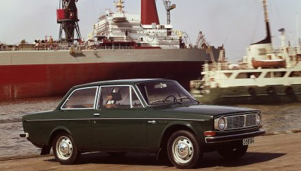 Volvo 144 celebrates 50th anniversary, was company's first million seller