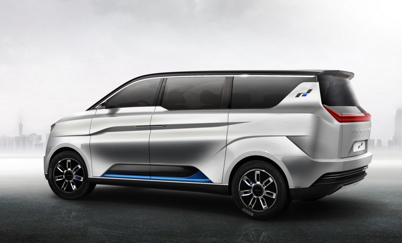 W Motors Fenyr >> W Motors reveals ICONIQ Seven EV minibus | PerformanceDrive