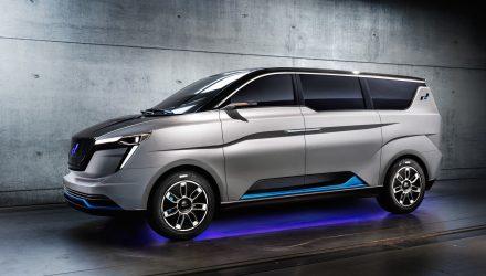 W Motors reveals ICONIQ Seven EV minibus