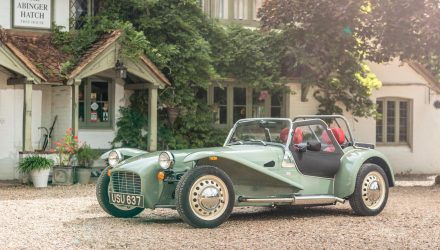 Caterham Seven Sprint goes retro, just 60 being made