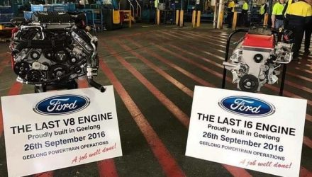 Ford Australia produces last I6 & V8 engines