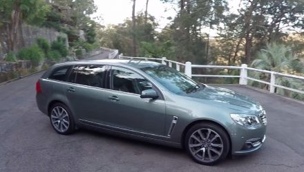 2016 Holden Calais V Sportwagon V8 LS3 POV review (video)