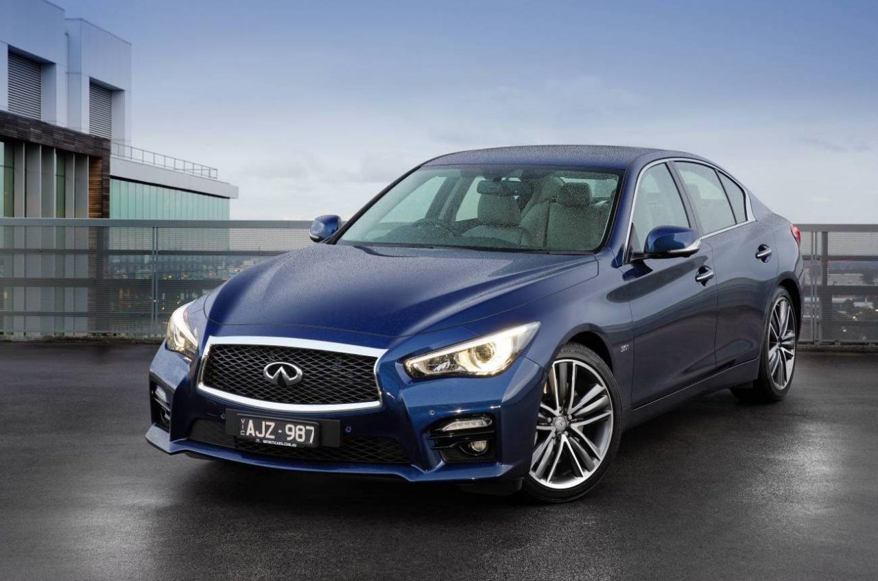 2016 infiniti q50 now on sale in australia 298kw red sport confirmed performancedrive. Black Bedroom Furniture Sets. Home Design Ideas