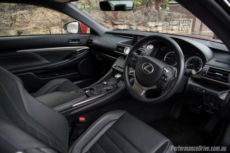 2016 Lexus RC 200t-interior