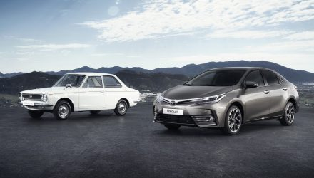 Toyota Corolla celebrates 50th anniversary this year