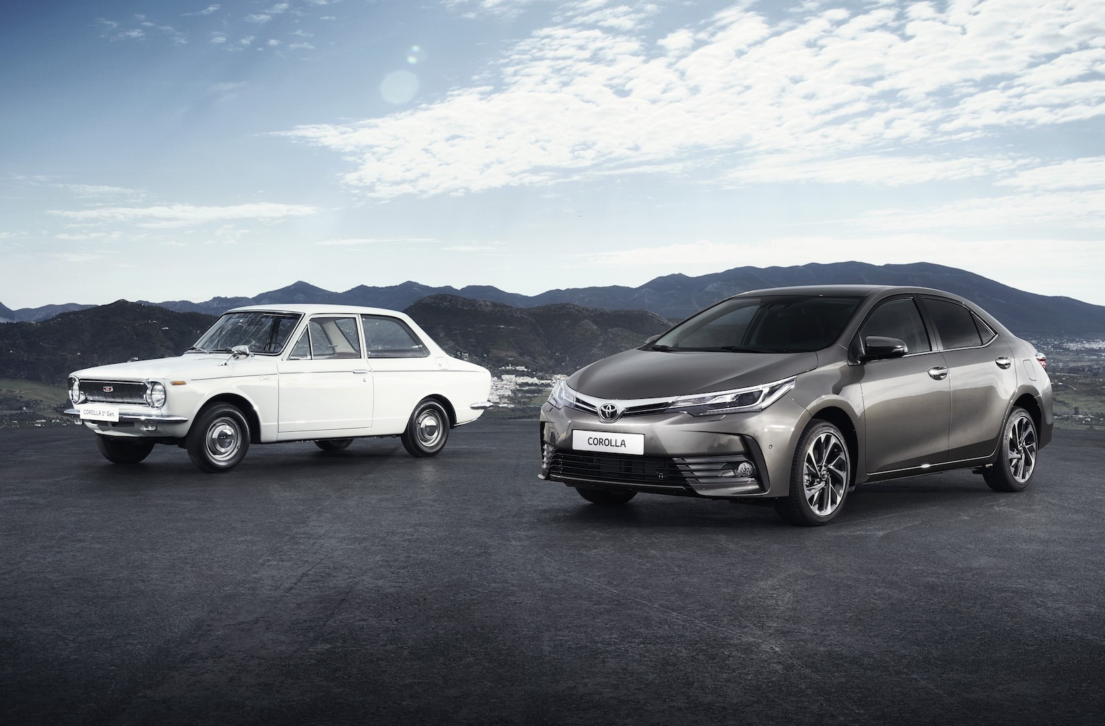 Toyota Corolla celebrates 50th anniversary this year ...