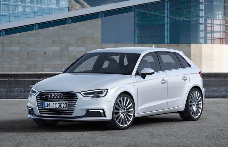 2017 Audi A3 e-tron white