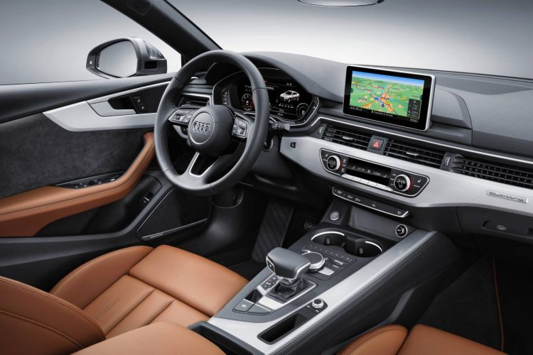 2017 Audi A5 Sportback-interior