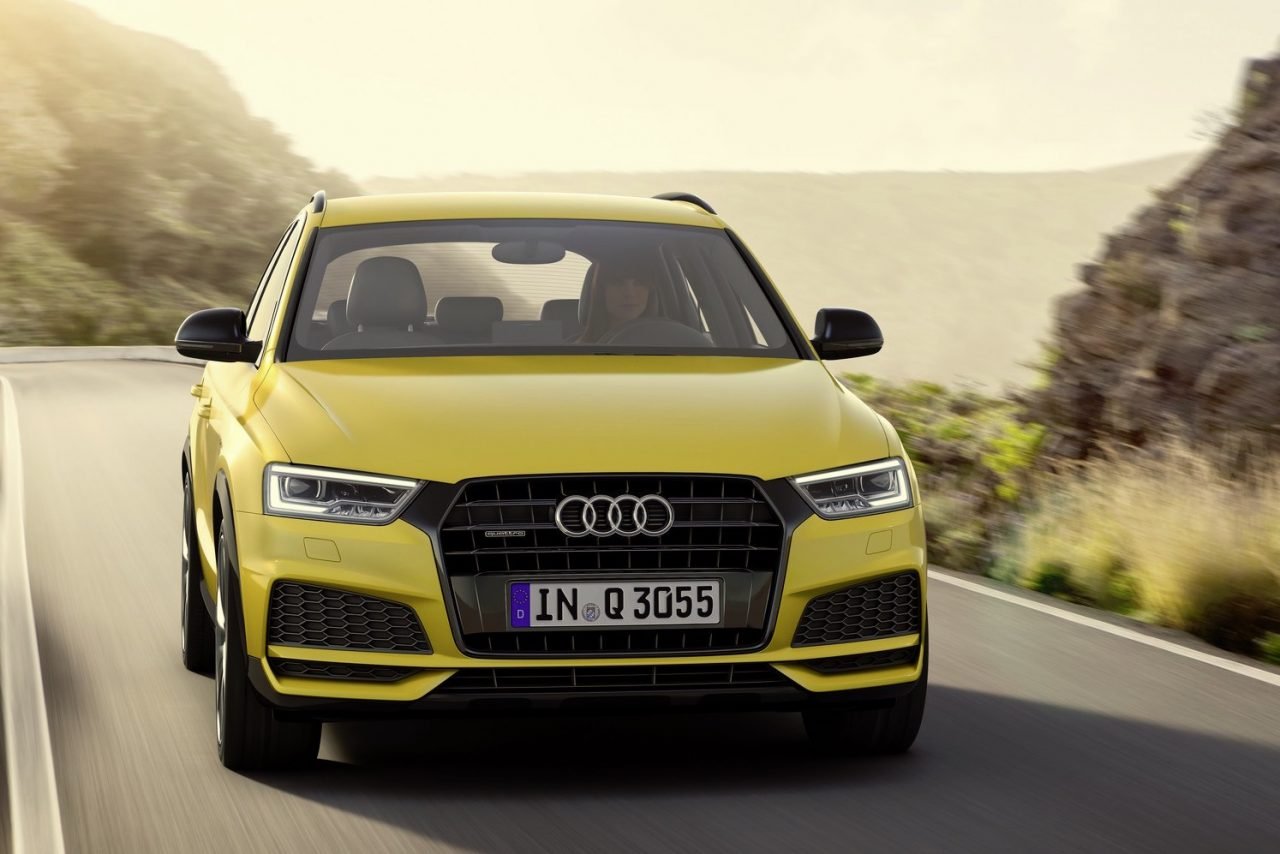 2017 audi q3 update introduces s line package. Black Bedroom Furniture Sets. Home Design Ideas