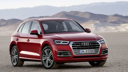 2017 Audi Q5 revealed at Paris show, up to 90kg lighter