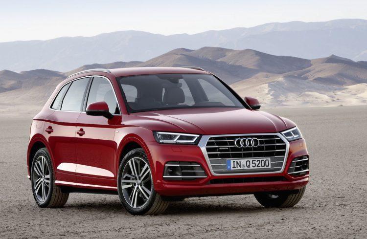 2017 Audi Q5-red