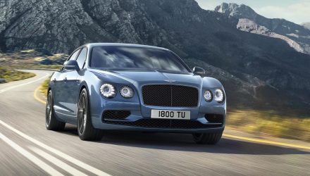 Bentley Flying Spur W12 S; company's first 200mph sedan