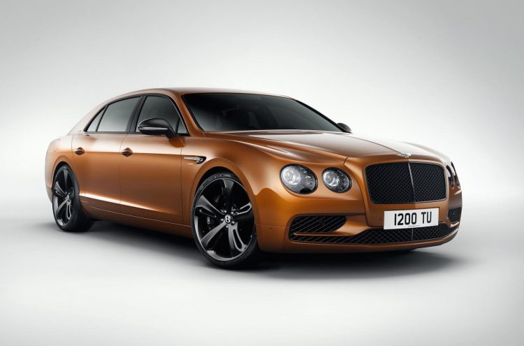 2017 Bentley Flying Spur W12 S-gold
