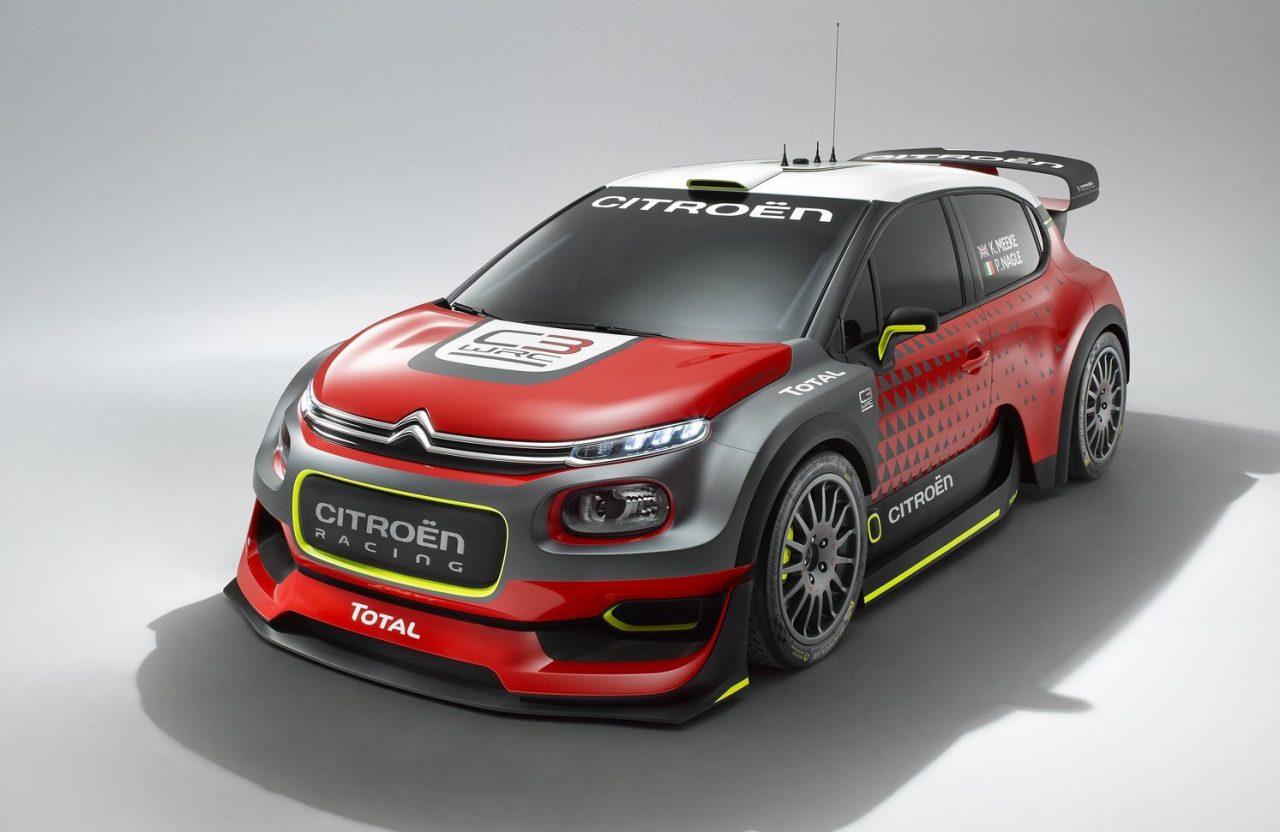 citroen c3 wrc concept previews 2017 rally car performancedrive. Black Bedroom Furniture Sets. Home Design Ideas