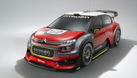 Citroen C3 WRC concept previews 2017 rally car