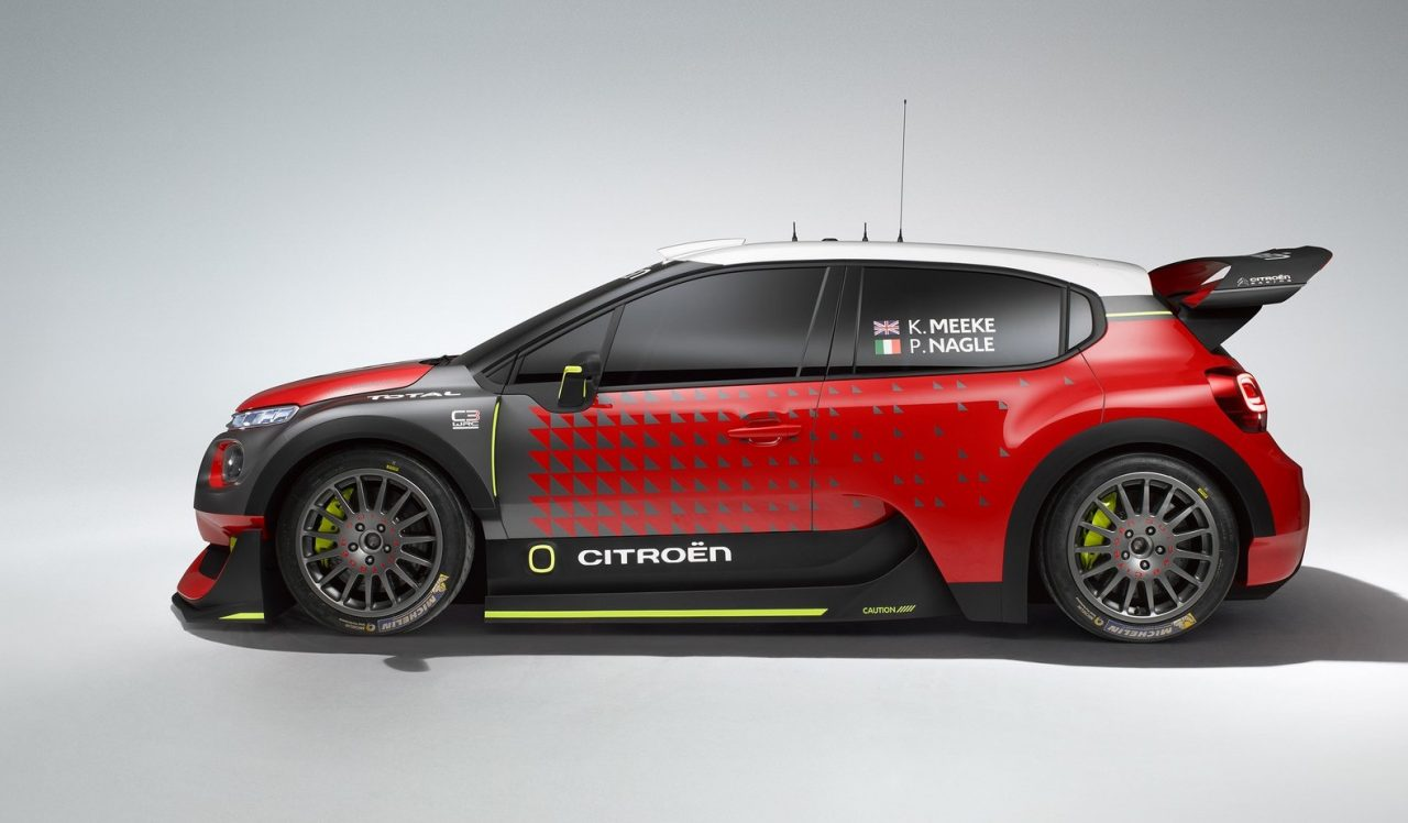 citroen c3 wrc concept previews 2017 rally car. Black Bedroom Furniture Sets. Home Design Ideas