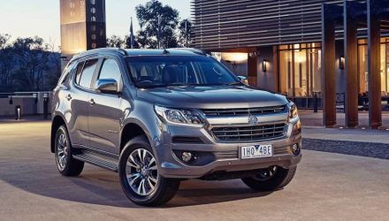 2017 Holden Trailblazer on sale in Australia from $47,990