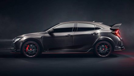 Aussie-bound 2017 Honda Civic Type R previewed