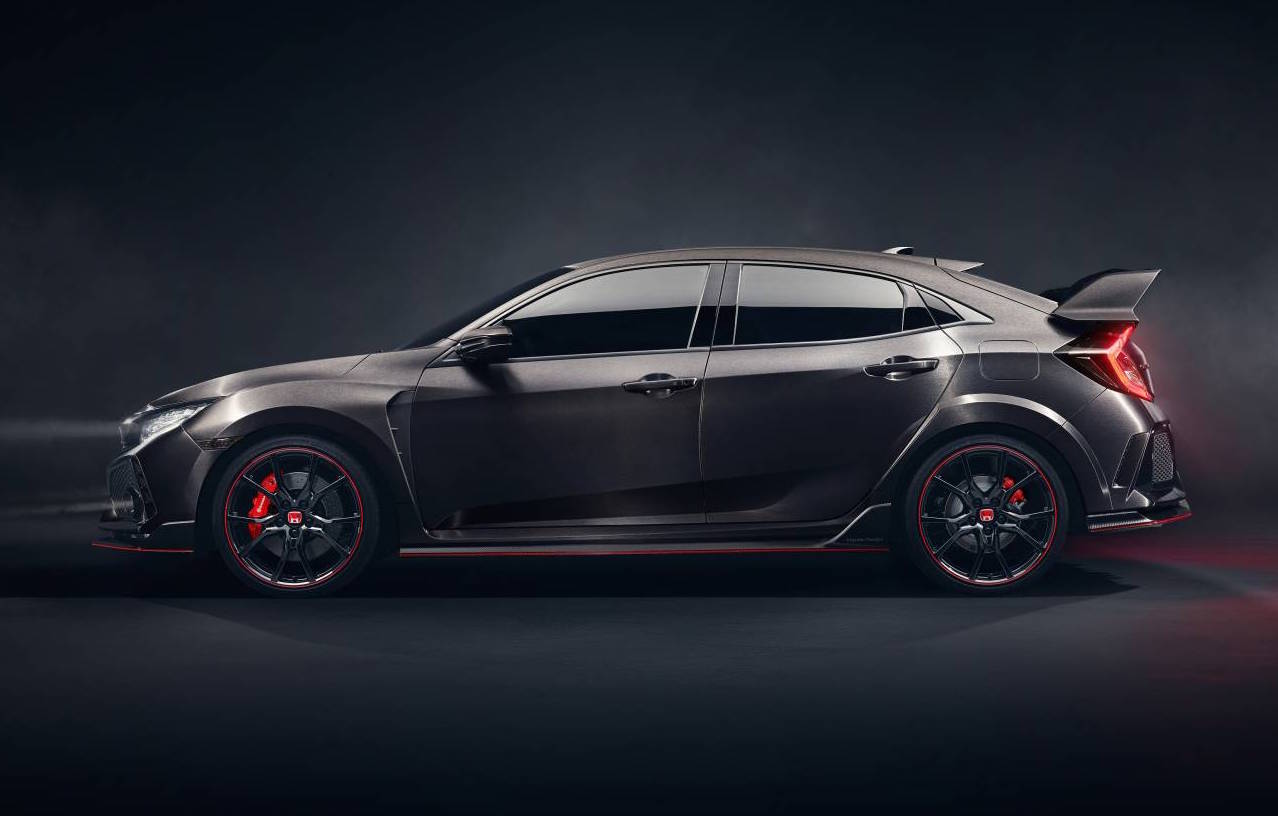 aussie bound 2017 honda civic type r previewed. Black Bedroom Furniture Sets. Home Design Ideas