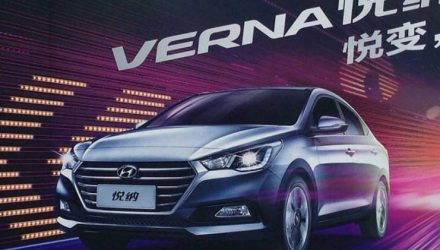 2017 Hyundai Verna revealed, previews next Accent?