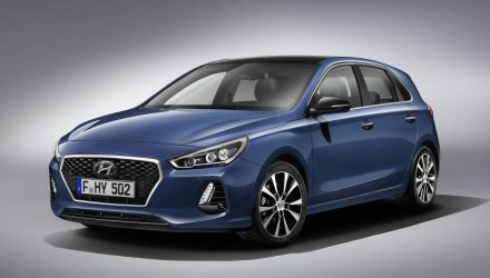 2017 Hyundai i30 gets fresh design, new 1.4T engine