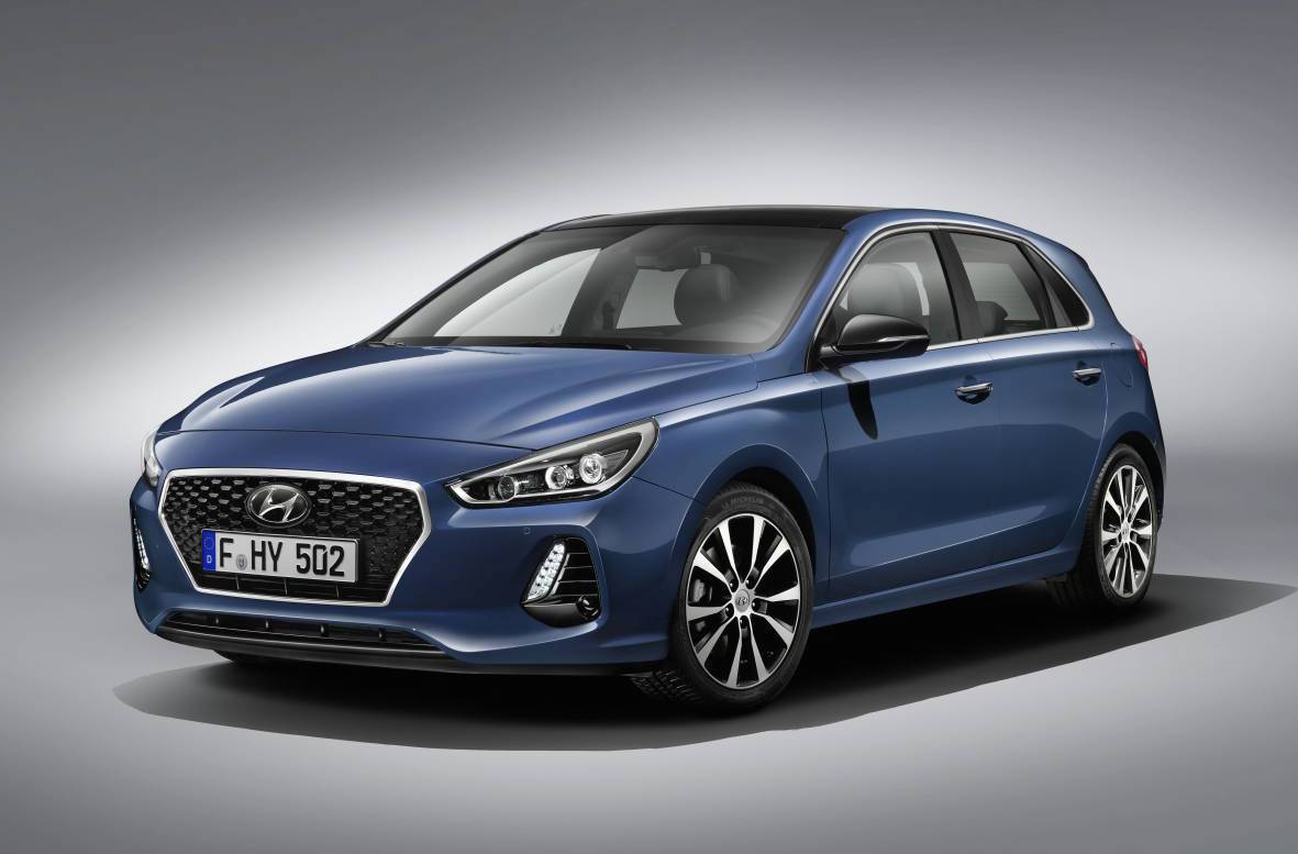 2017 hyundai i30 gets fresh design new 1 4t engine performancedrive. Black Bedroom Furniture Sets. Home Design Ideas
