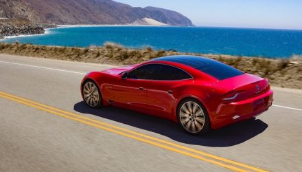2017 Karma Revero makes official debut at Laguna Beach