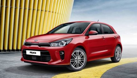 2017 Kia Rio shows its smarter look before Paris debut