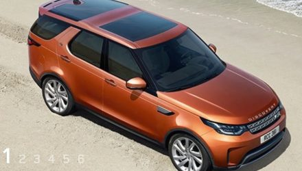 2017 Land Rover Discovery revealed, accidentally