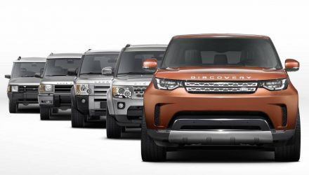 All-new Land Rover Discovery front end revealed