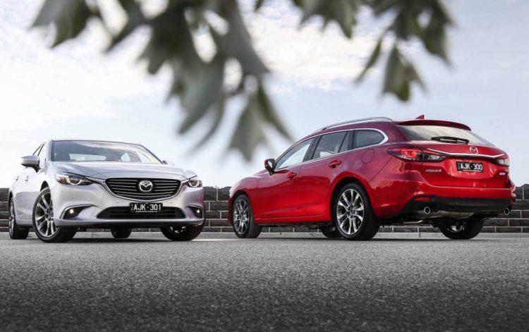 2017 Mazda6 sedan wagon