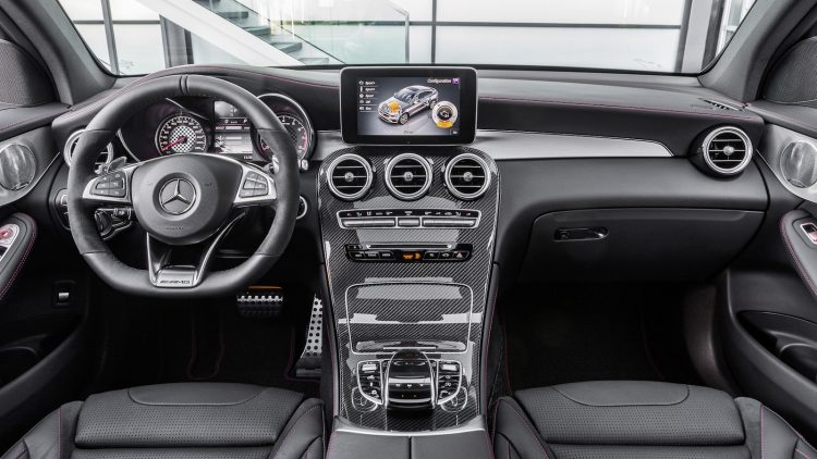 Mercedes-AMG GLC 43 Coupe-dash