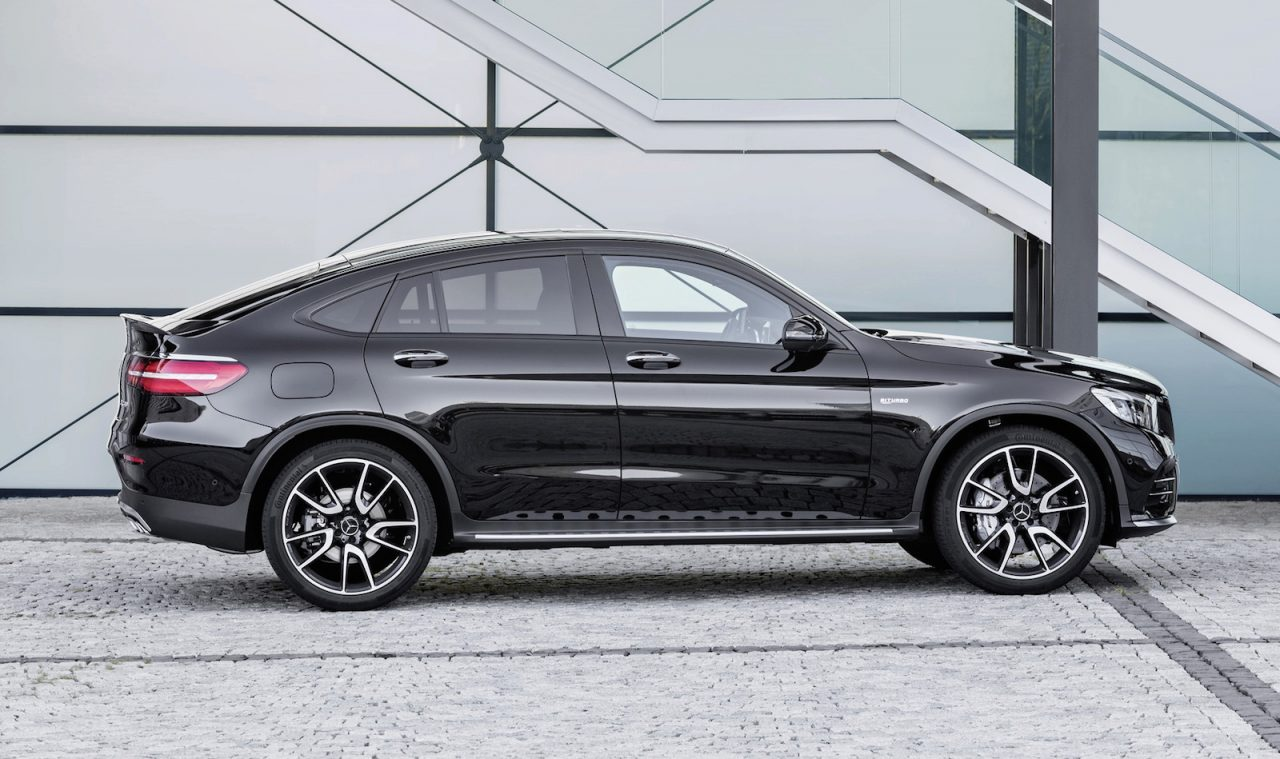 mercedes amg glc 43 coupe revealed 270kw turbo performancedrive. Black Bedroom Furniture Sets. Home Design Ideas