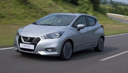 2017 Nissan Micra revealed at Paris motor show