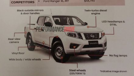 Nissan Navara Series II adds SL variant, revised suspension
