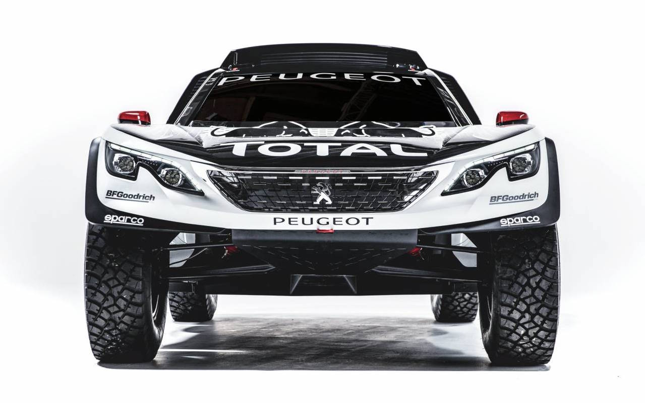 peugeot 39 s 2017 dakar entry looks angry the 3008 dkr performancedrive. Black Bedroom Furniture Sets. Home Design Ideas