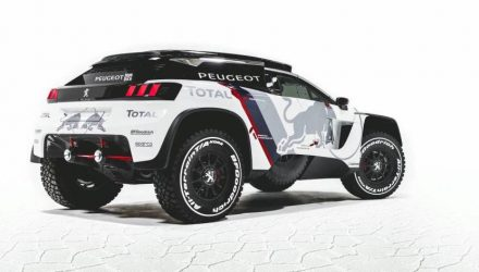 2017 Peugeot 3008 DKR-rear